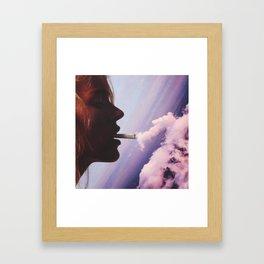 Sum.Clouds. Framed Art Print
