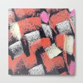 Mosaics multicolor 3 ING Metal Print