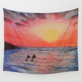 2 Souls Reunited Wall Tapestry