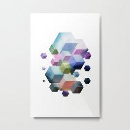 Fly Cube N2.9 Metal Print