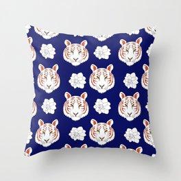 Auburn navy Throw Pillow
