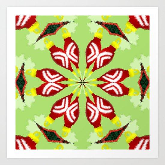 Kaleidoscope 'K1 SQ' Art Print
