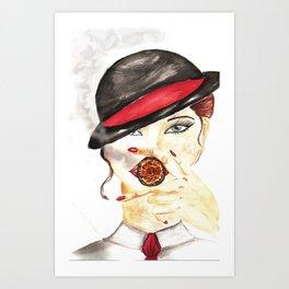 Savile Row beauty Art Print