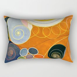 "Hilma af Klint ""The Ten Largest, No. 03, Youth, Group IV"" Rectangular Pillow"