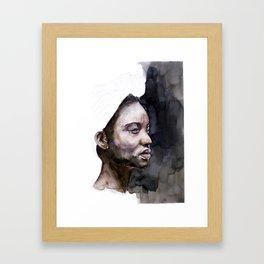 FACE#77 Framed Art Print