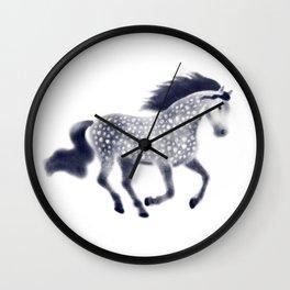 Dapple horse Wall Clock
