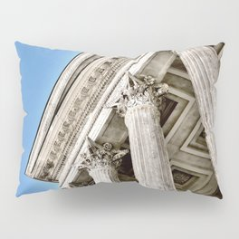 Roman Temple Corinthian Columns Nimes Provence France Pillow Sham