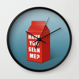 Have you seen me? Wall Clock