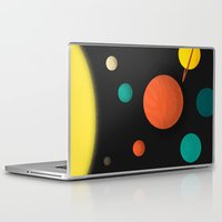 solar system Laptop & iPad Skins featuring Solar system by Sarajea