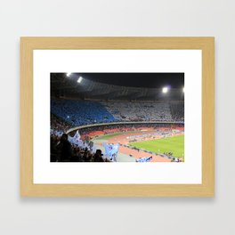 Fans choreography Framed Art Print