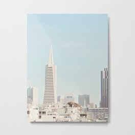 San Francisco Skyline - Architecture, Travel Photography Metal Print
