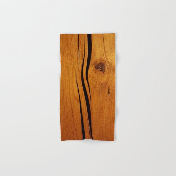 Wooden texture Hand & Bath Towel