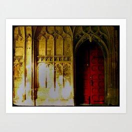 Red Door No. 2 Art Print