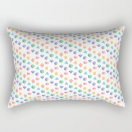 A Colorful Way to Die Rectangular Pillow