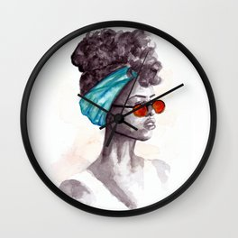 Shades Wall Clock