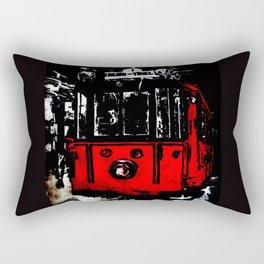 subway Rectangular Pillow