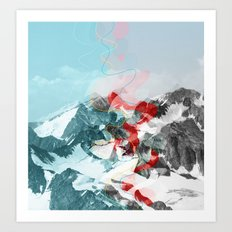 another abstract dream 2 Art Print