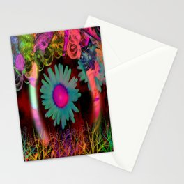 Tripping Daisies Stationery Cards