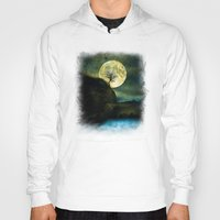 agnes Hoodies featuring The Moon and the Tree. by Viviana Gonzalez