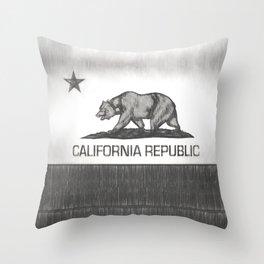 California Republic state flag Throw Pillow