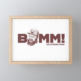 BAMM!!! Framed Mini Art Print