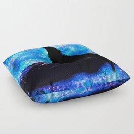 NIGHT WOLF Floor Pillow