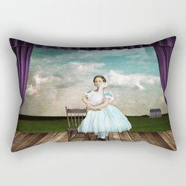 The Audition Rectangular Pillow