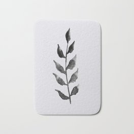 Baesic Mono Floral (Leaf 2) Bath Mat