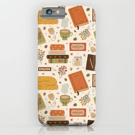 Cozy Reading Time iPhone Case