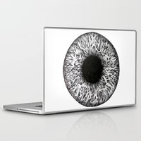 iris Laptop & iPad Skins featuring Iris by ECMazur