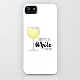I'm Dreaming Of A White Christmas iPhone Case