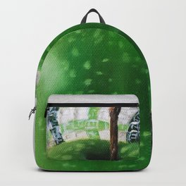 Green Apple and Tea Towel III Backpack
