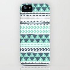 Winter Stripe iPhone (5, 5s) Slim Case