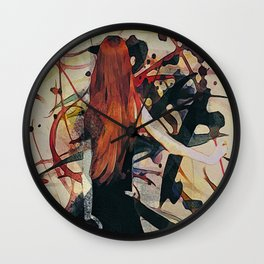 Expression Abstract Wall Clock