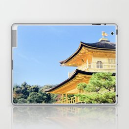 Castle in gold Laptop & iPad Skin