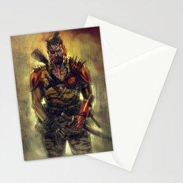 Ronin Snake Stationery Cards
