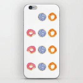 doughnut selection iPhone Skin