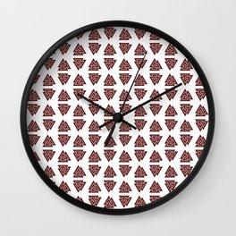 Viking Pattern | Warrior Valknut Norse Mythology Wall Clock
