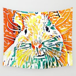 Hot painted Guinea Pig Wall Tapestry