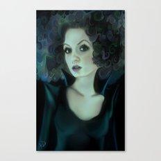 Night portrait Canvas Print