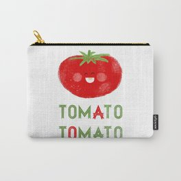 Tomato-Tomato Carry-All Pouch