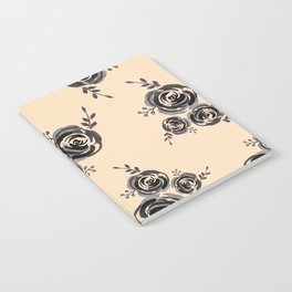 Roses pattern Notebook