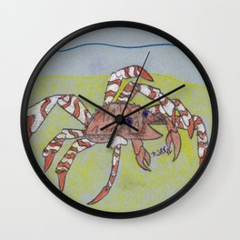 Spider Crab Wall Clock
