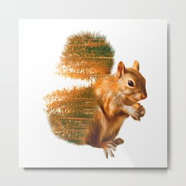 Peanut Cracker Metal Print