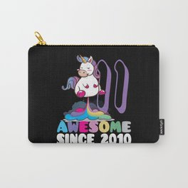 Awesome since 2010 11th Birthday Carry-All Pouch