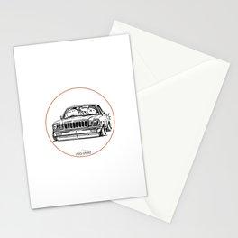 Crazy Car Art 0021 Stationery Cards