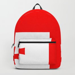 Flag Of The Country Of Georgia Backpack