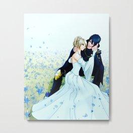 Noctis & Luna Metal Print