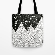 Day and Night (pen on paper) Tote Bag