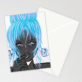 Fondant blue Stationery Cards